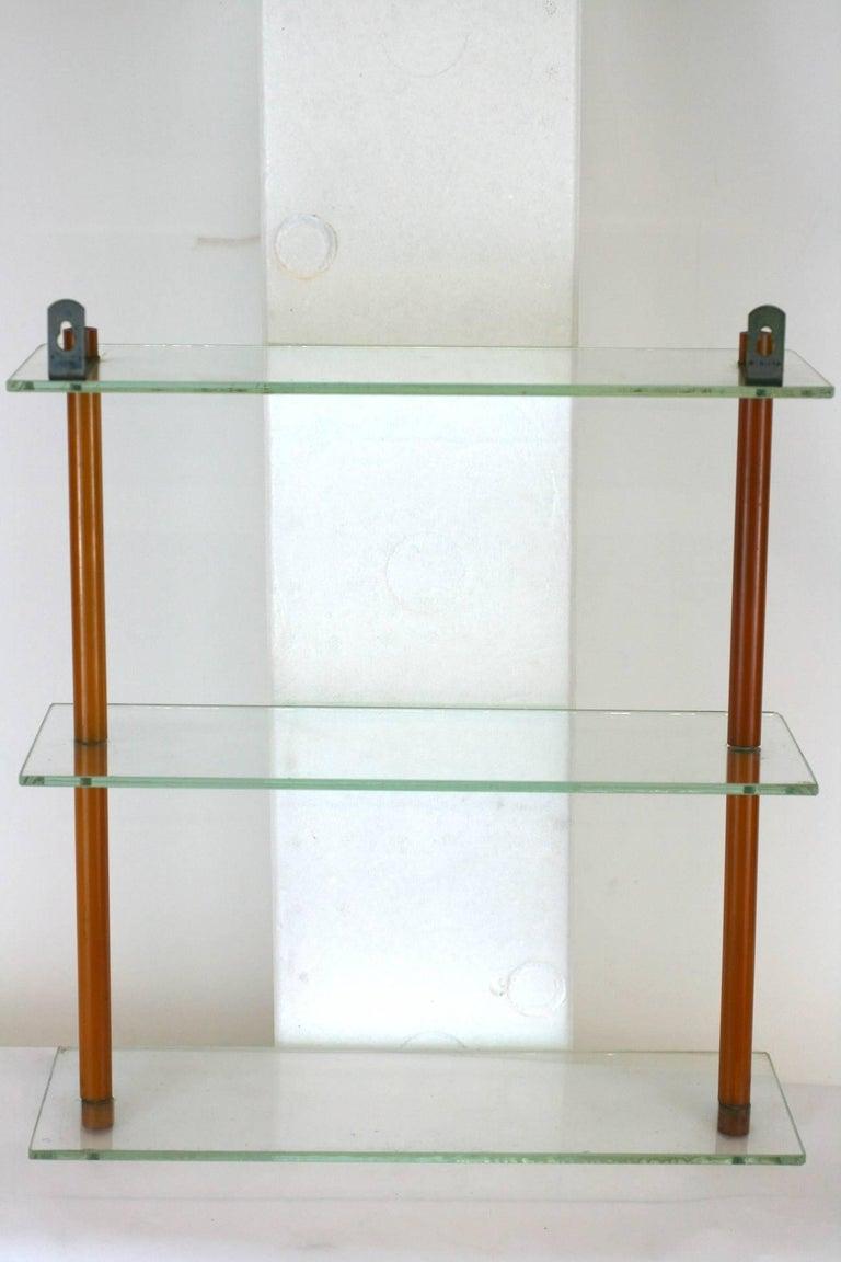 Gray Art Deco Bakelite Shelf  For Sale