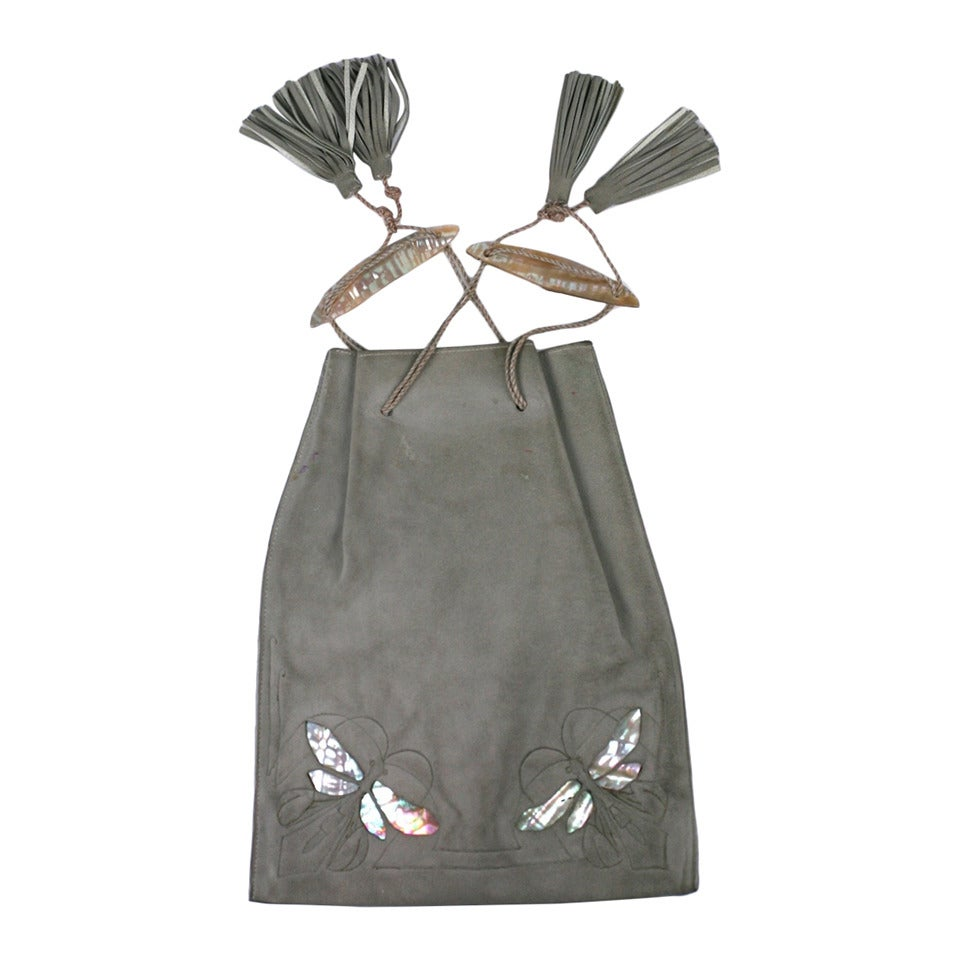 Wonderful Arts and Crafts Dragonfly Pouch