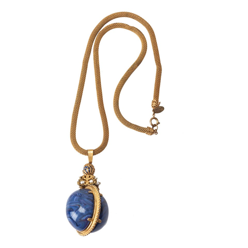 miriam haskell imperial egg necklace necklace for sale at