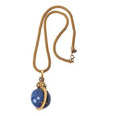 Miriam Haskell Imperial Egg Necklace Necklace