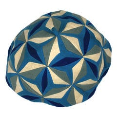 Lenci Art Deco Cubist Wool Beret