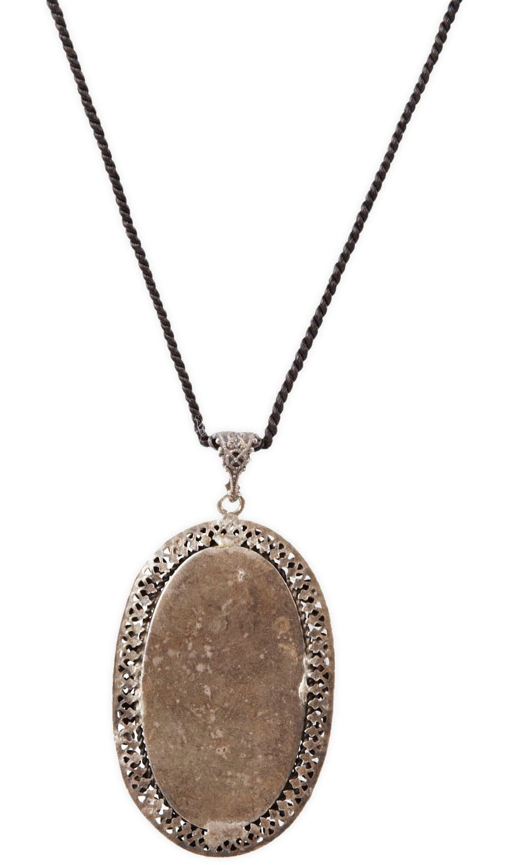 Art Deco Jet And Marcasite Pendant For Sale At 1stdibs