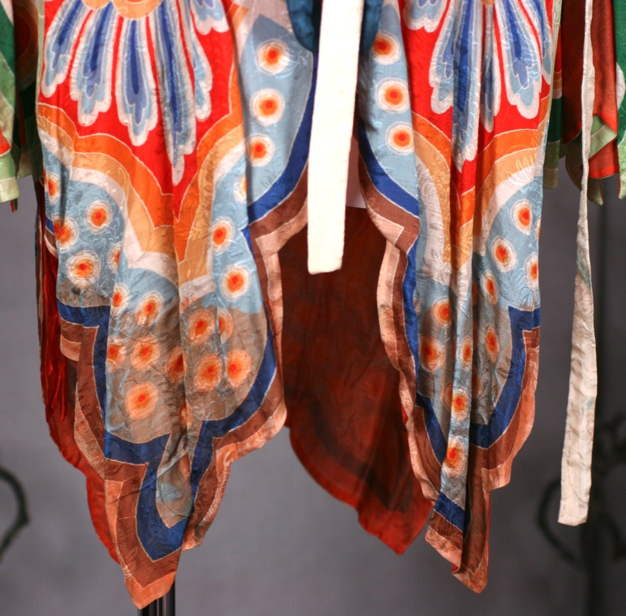 Art Deco Butterfly Kimono Dressing Gown 10