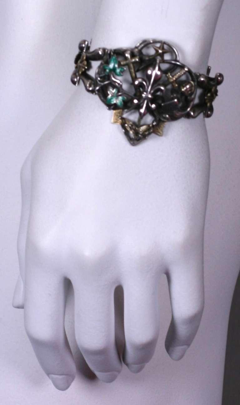 Rare Gothic Revival Bracelet 4
