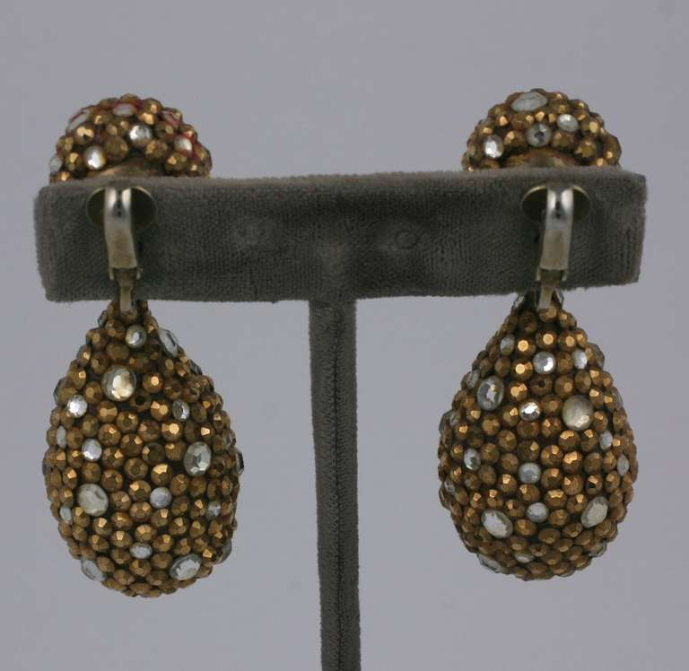 Arpad Copper Pave Earrings 3