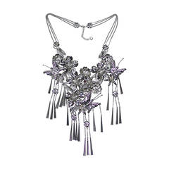 Christian Dior John Galliano Chinese Butterfly Necklace, A / W 2003-04