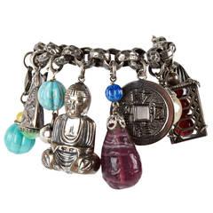Napier Chinoiserie Charm Bracelet