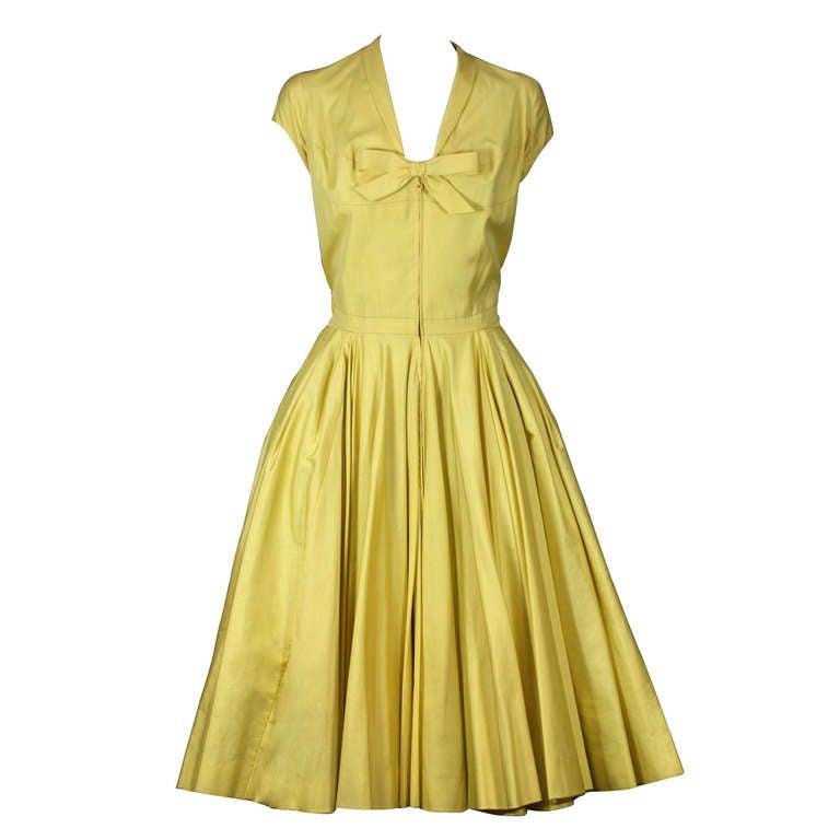 Charles James Afternoon Dress