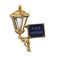 Mauboussin Place Vendome Lantern Clip