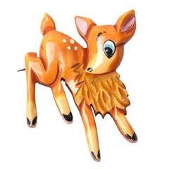 Bakelite Bambi Brooch