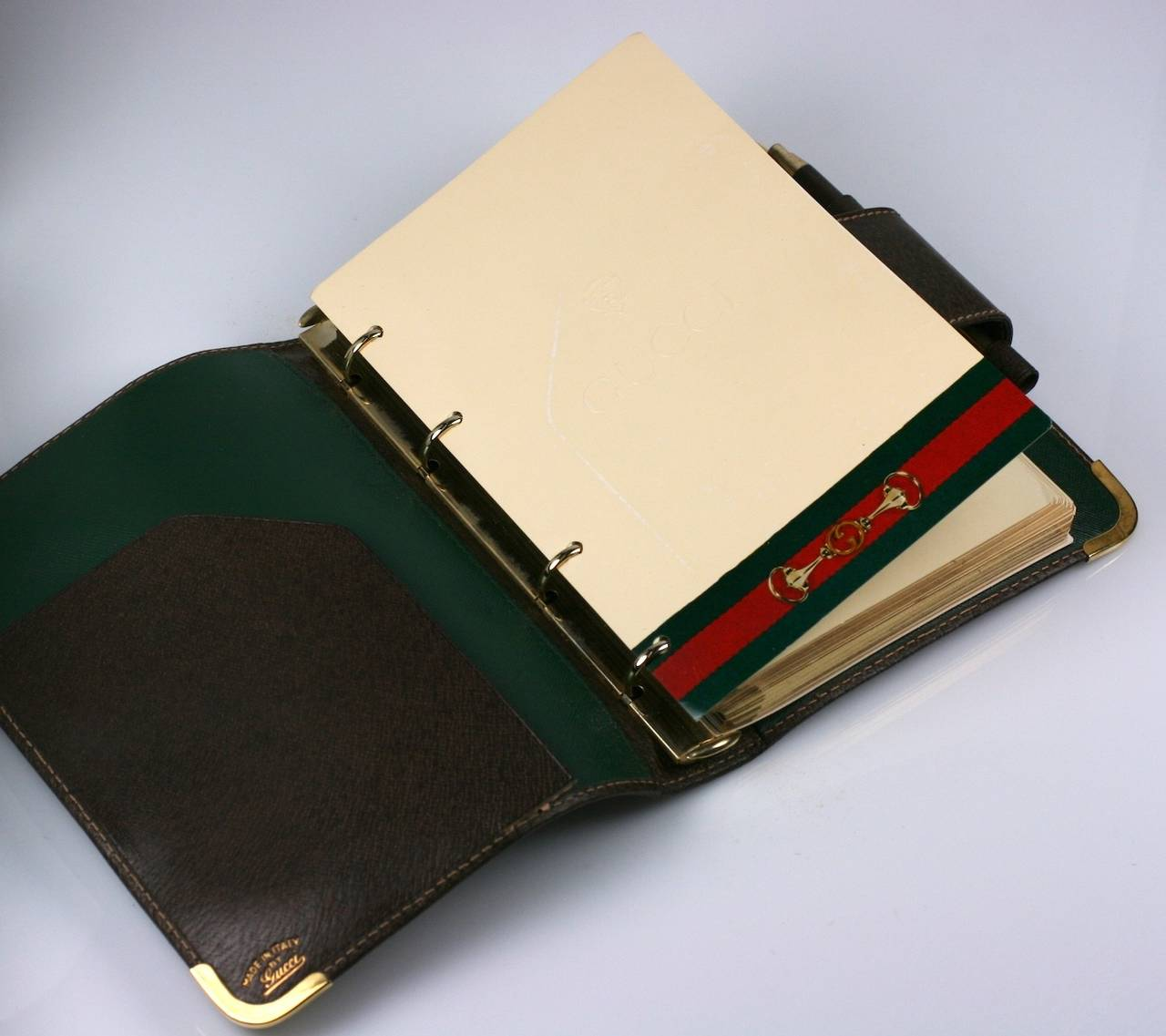 Gucci Unused Original Leather Planner 4