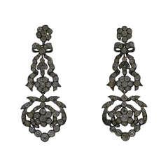 Antique Paste Earrings