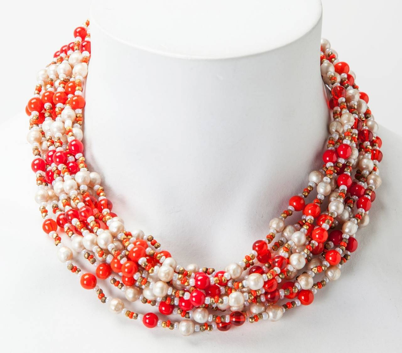 Miriam Haskell Multi-Strand Necklace 2