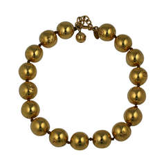 Chanel Gold Logo Beads