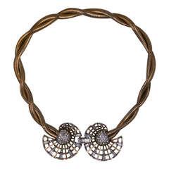 Marcel Boucher Van Cleef Style Retro Necklace
