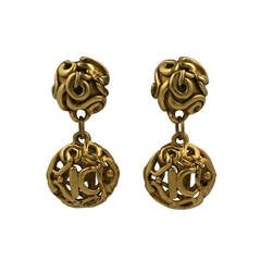 Kalinger, Paris Gold Drop earrings