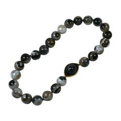 """Banded Agate """"Eye"""" Beads, MWLC"""