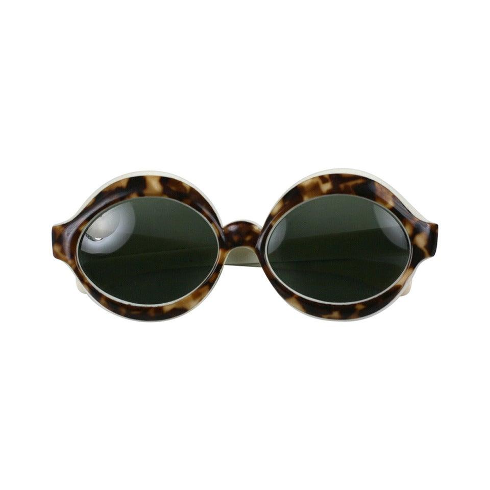 Italian Faux Tortoise Sunglasses