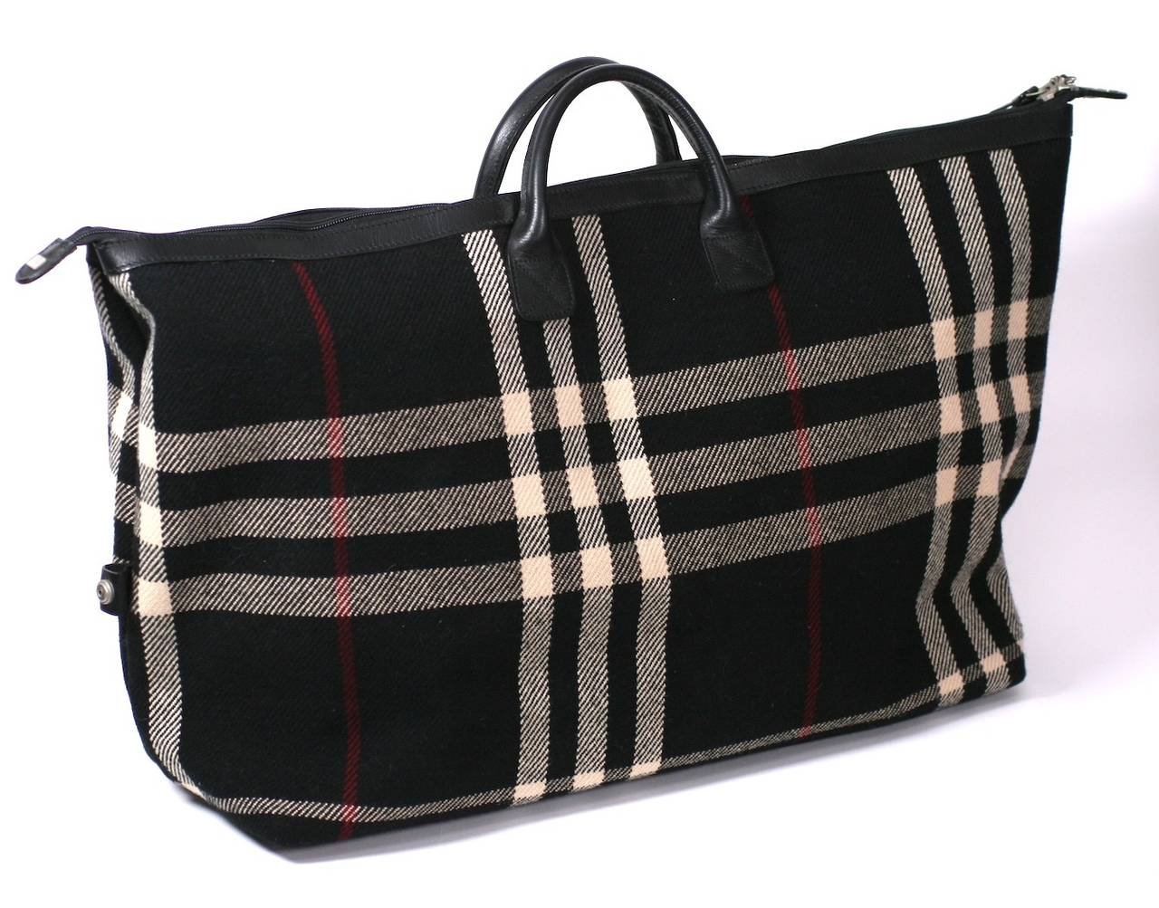 5f024dbefd3d Burberry Plaid Weekender at 1stdibs