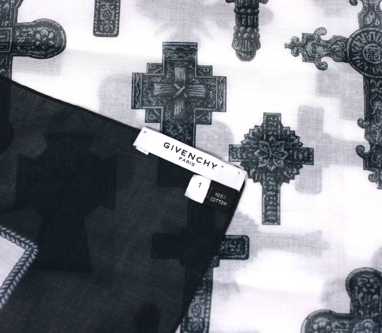 Givenchy Cotton Cross Scarf 3