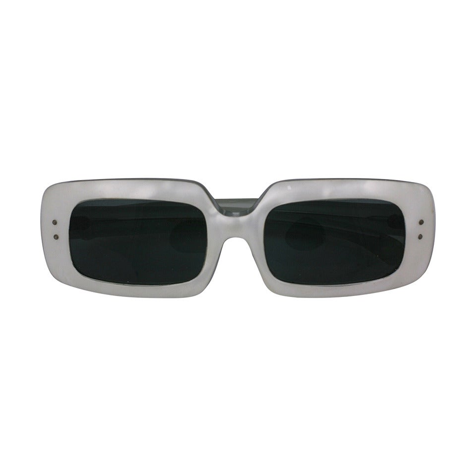 French Pearlized Mod Sunglasses