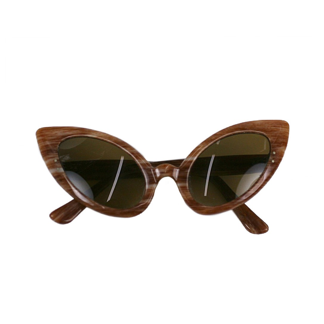 e8fe8092e409 Oleg Cassini Alien Sunglasses at 1stdibs