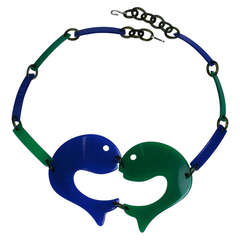 Italian Kissing Fish Link Belt