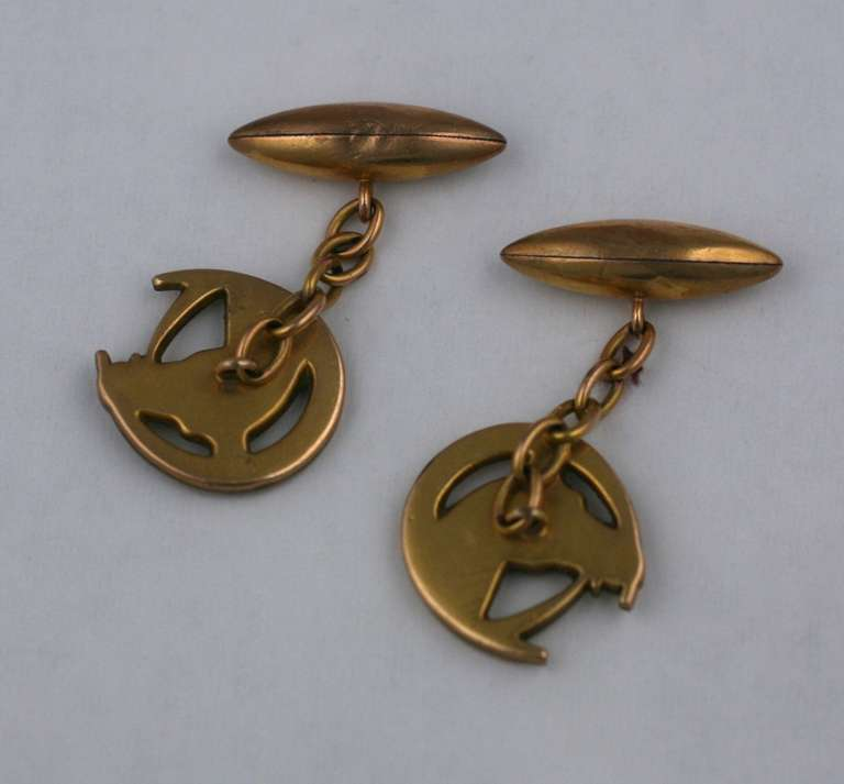 Antique French Equestrian Cufflinks For Sale At 1stdibs