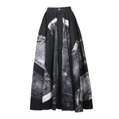 Jean Paul Gaultier X-Ray Jeans Skirt