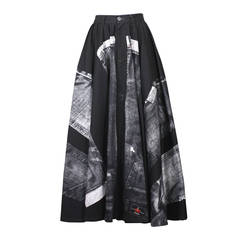 Jean Paul Gaultier X-Ray Jeans Skirt