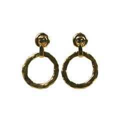 YSL Max Ernst Inspired Hoops