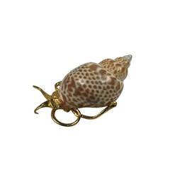 Kenneth Jay Lane's Snail brooch