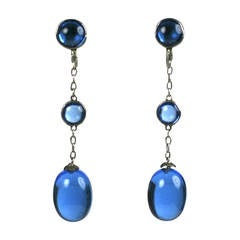 Art Deco Chinese Drop Earrings