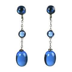 Art Deco Chinese Drop Earrings