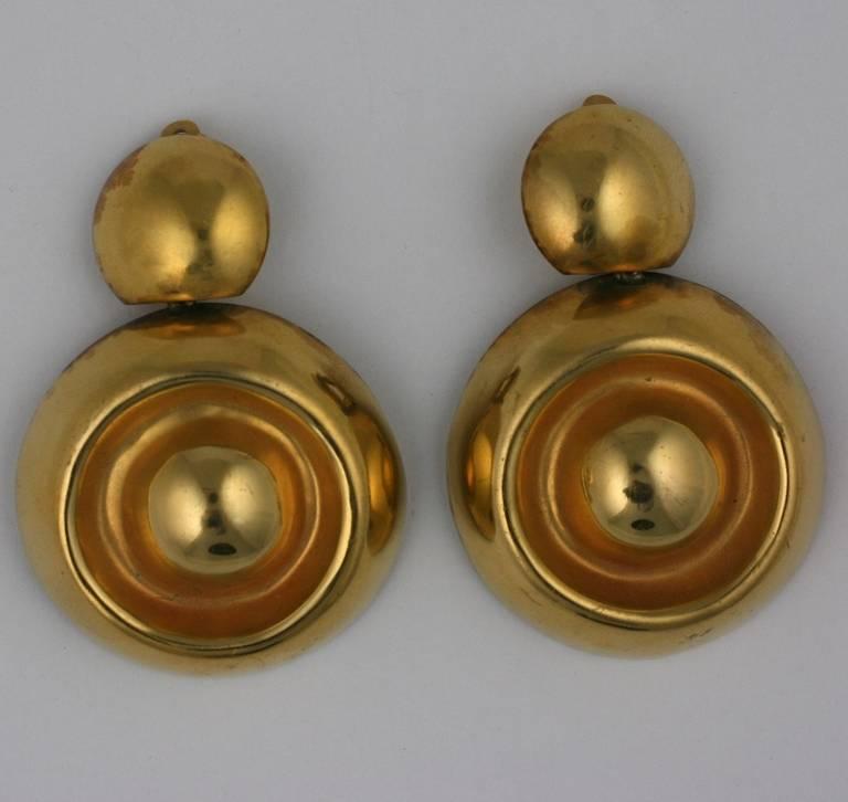Women's Steve Vaubel Gilt Earrings For Sale