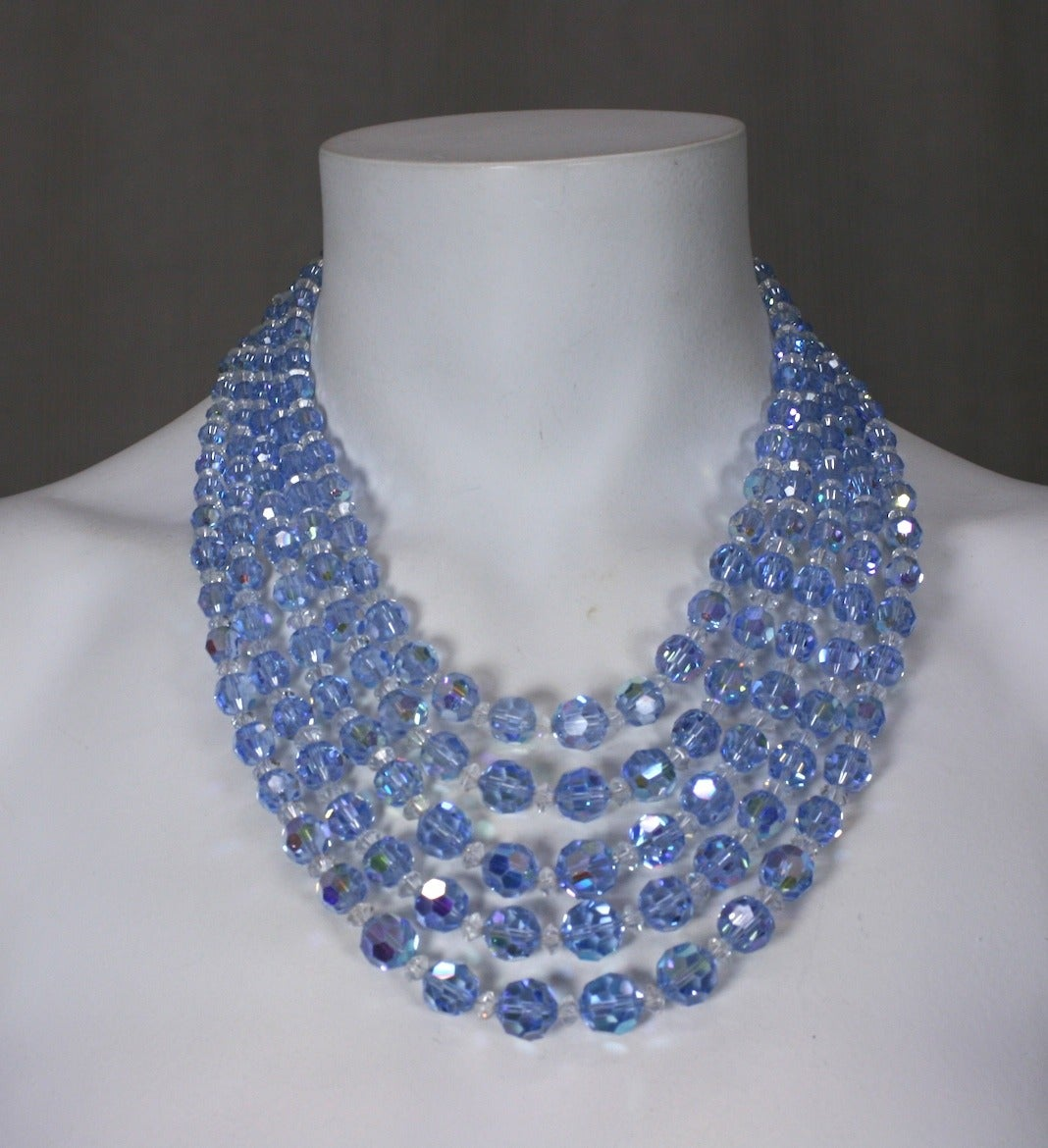 Women's Pale Aqua Aurora Swarovski Crystals For Sale
