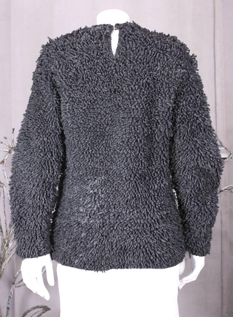 Italian Shag Rug Sweater For Sale At 1stdibs