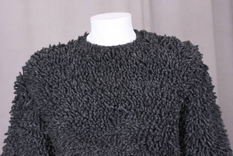 Italian Shag Rug Sweater For Sale At 1stdibs