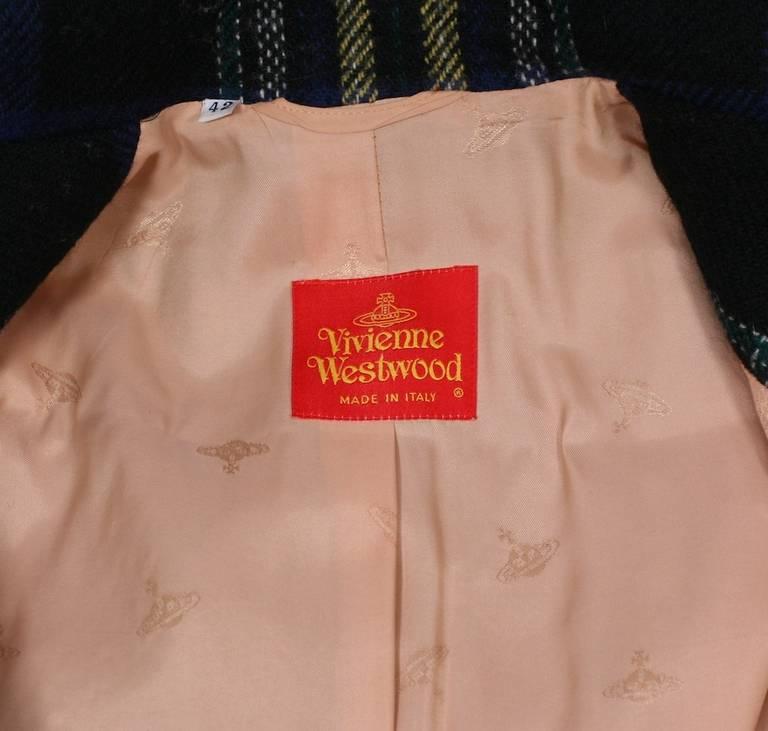Vivienne Westwood Military Tweed Suit For Sale 2