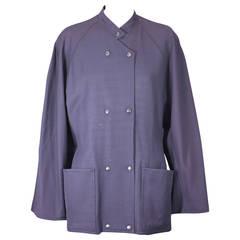 Anne Marie Beretta Wool Gabardine Jacket