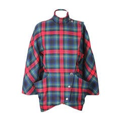 Anne Marie Beretta Fitted Tartan Jacket