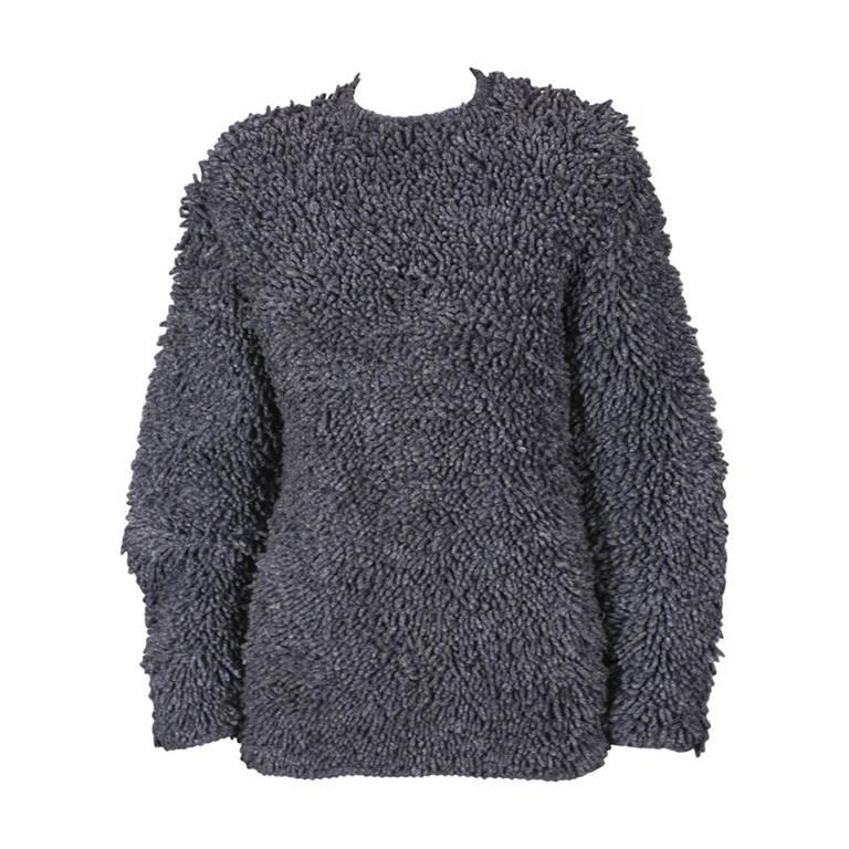 Italian Shag Rug Sweater