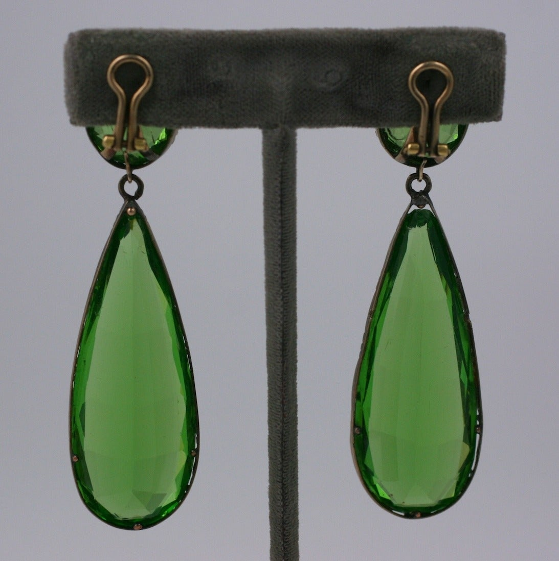 Exceptional Georgian Paste Earrings, ex. Lillian Gish 3