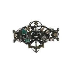 Rare Gothic Revival Bracelet