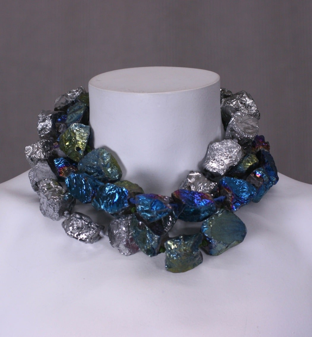 blue moon rock necklace mwlc for sale at 1stdibs