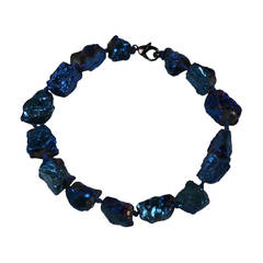 Blue Moon Rock Necklace, MWLC