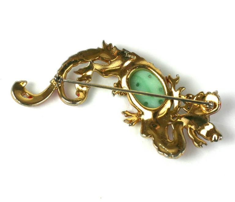 Women's Trifari Ming Dragon Suite For Sale