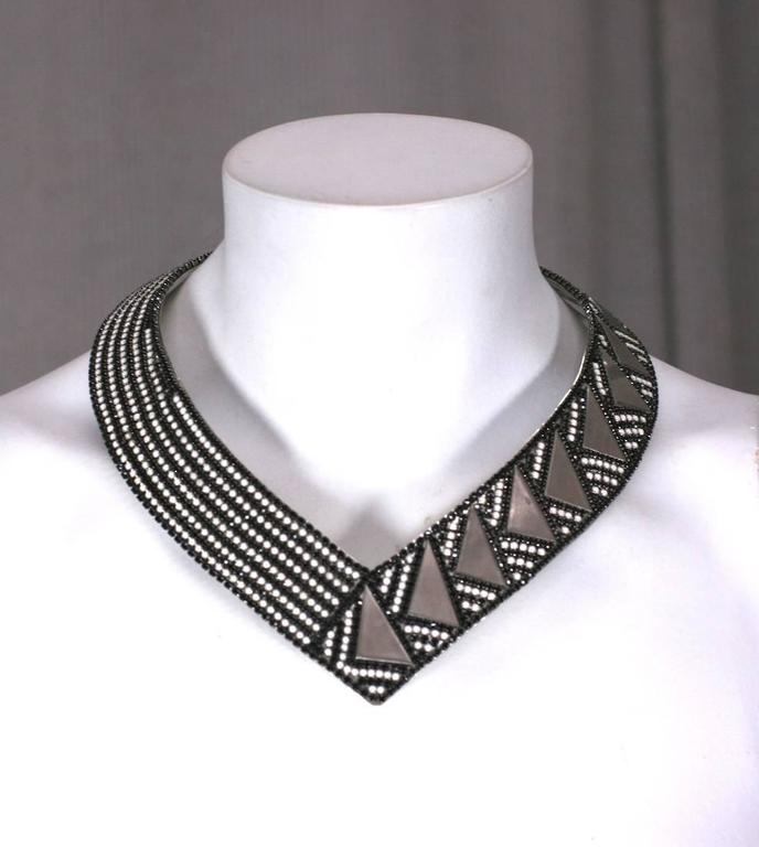 Roxanne Assoulin Deco Style Collar For Sale 2