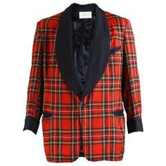 Vintage Men's Tartan Plaid Checked Drape Jacket by Joseph Horne, 1960s