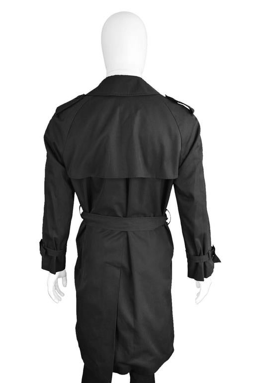 1980s Mens Vintage Christian Dior Trench Coat At 1stdibs